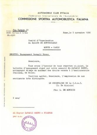 1956 Montecarlo CSAI a