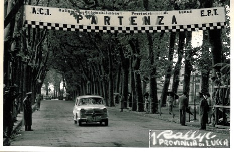 1957 I° Rally di Lucca AB