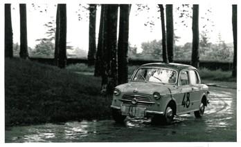 1957 I° Rally di Lucca AC