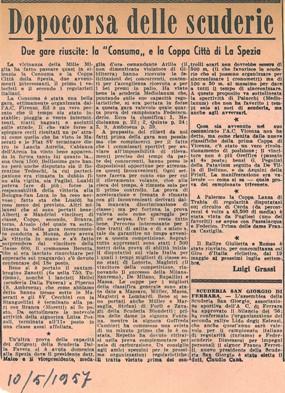 1957 II Coppa La Spezia BBB