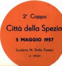 1957 II Coppa La Spezia BBC