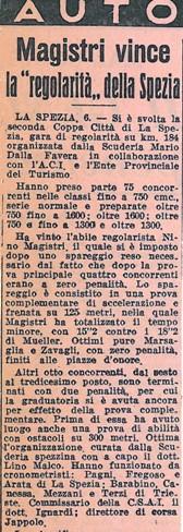 1957 II Coppa La Spezia D