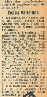 1957 IV Coppa Valtellina B