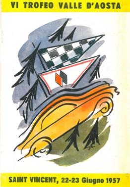 1957 VI Trofeo Valle d'Aosta A