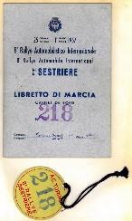 1957 VIII Sestriere B