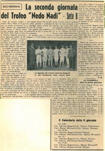 004 - 1952 Gennaio Scherma bb