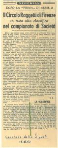 005 - 1952 Gennaio Scherma a
