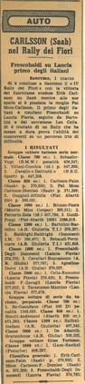 009 1964 IV Rallye dei Fiori AA