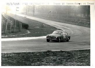 10 1958 XXII Milano Sanremo AB