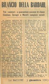 1963 Risultati Bardahl A