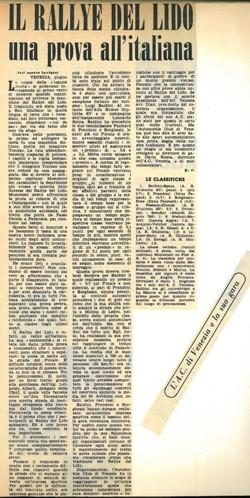 22 1958 Lido di Venezia AC
