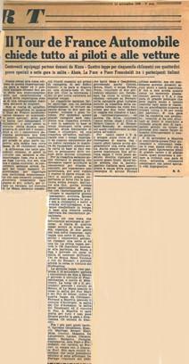50 1960 Tour de France Articolo 1